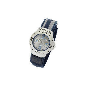 Photo of Kahuna Mens Blue Velcro Strap Watch Watches Man