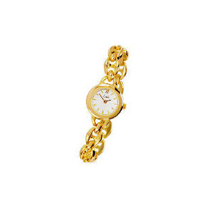 Photo of Limit Ladies Gold Plated Champagne Dial Bracelet Watch Jewellery Woman