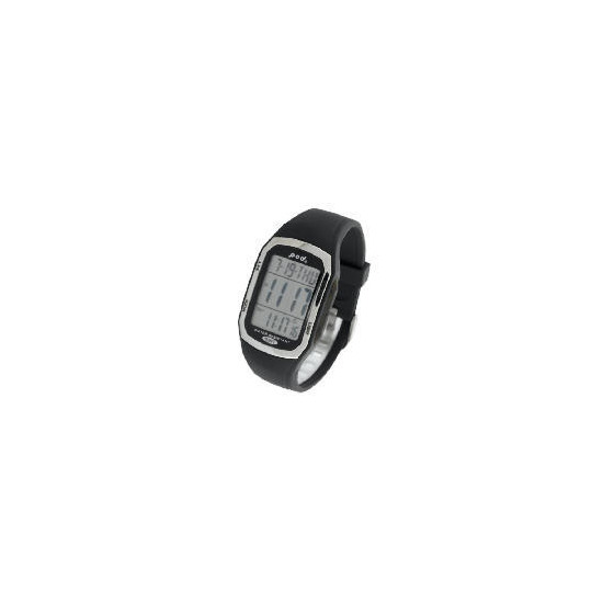 Pod LCD Retangular Resin Strap Watch