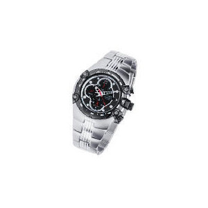 Photo of Pulsar Mens Chrono/Tachy Meter Black Dial Bracelet Watch Watches Man