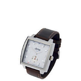 Jeep mens brown strap watch Reviews