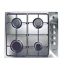 Hoover HGL60AMX Stainless Steel Gas Hob Reviews
