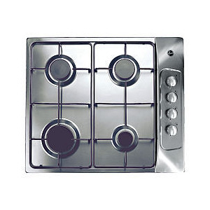 Photo of Hoover HGL60AMX Stainless Steel Gas Hob Hob