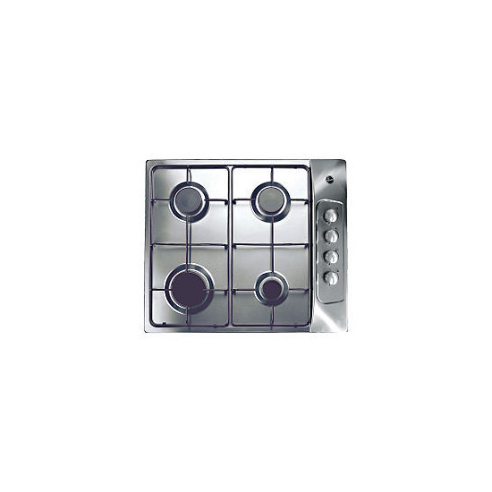 Hoover HGL60AMX Stainless Steel Gas Hob