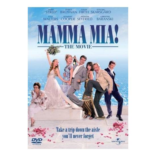Mamma Mia! DVD Video