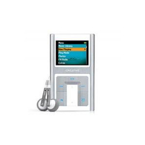 Photo of Creative Zen Sleek 20GB MP3 Player
