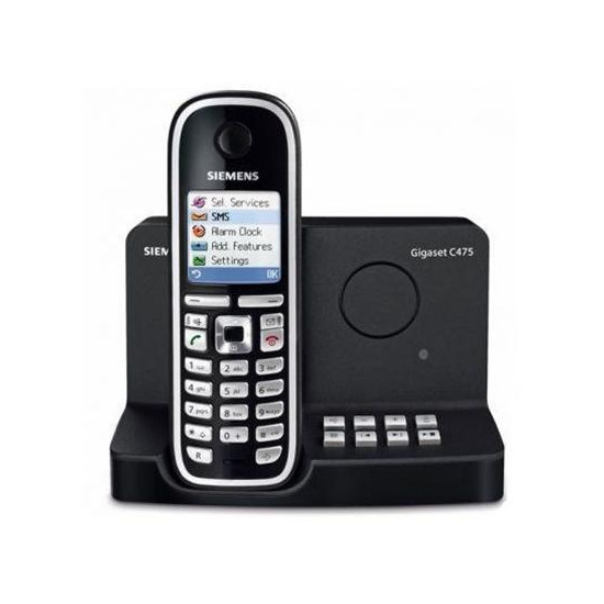 Siemens gigaset c475 designer cordless phone reviews compare prices and deals reevoo - Designer cordless home phones ...