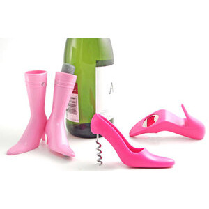 Photo of Pink Chic Boot and Stiletto Cocktail Set Gadget