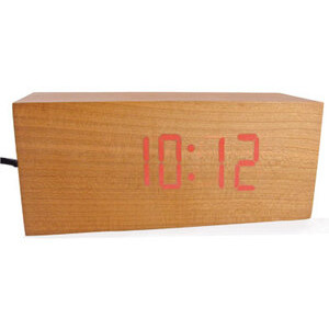 Photo of Wooden Clock Clock