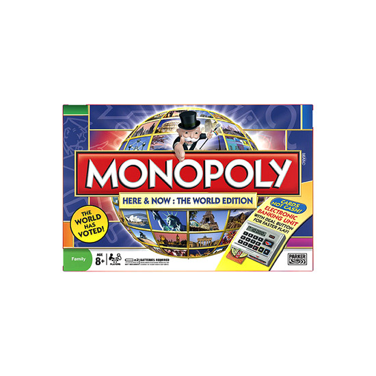 Monopoly - Here & Now - The World Edition