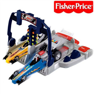 Photo of Fisher Price Shake 'N' Go Dragsters Racing Set Toy