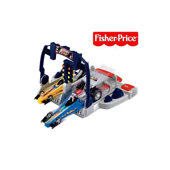 Fisher Price Shake 'n' Go Dragsters Racing Set