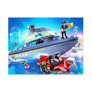 Photo of Playmobil - Police Boat 4429 Toy
