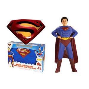 Photo of Deluxe Superman Action Wear - Medium Toy