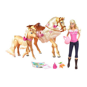 Photo of Barbie Horse & Colt Toy