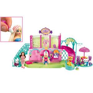 Photo of Polly Pocket Sparklin' Pets Salon Toy