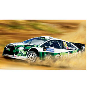 Photo of Scalextric - Ford Focus - Eddie Stobart Toy