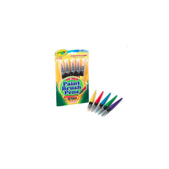 Crayola - 5 Paint Brush Pens