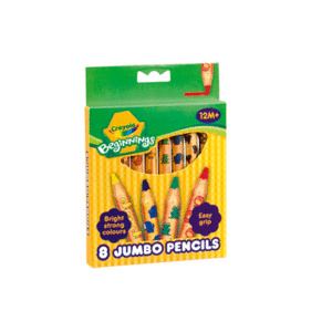 Photo of Crayola Beginnings - 8 Jumbo Pencils Toy