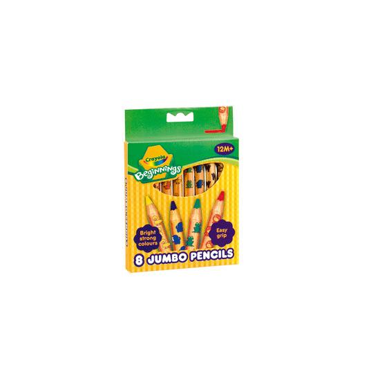 Crayola Beginnings - 8 Jumbo Pencils