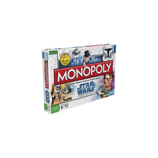 Monopoly - Star Wars Clone Wars
