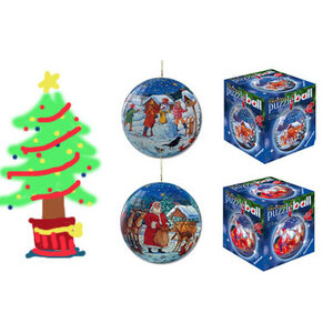 Photo of Mini Puzzleball - Christmas Toy