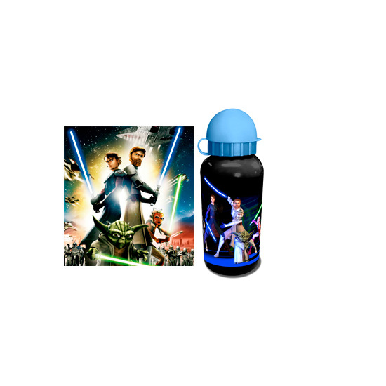 Star Wars Clone Wars Aluminium Bottle