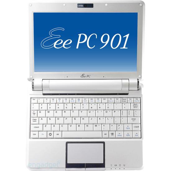 Asus Eee PC 901 12GB Windows XP Home