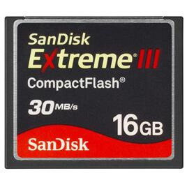 Sandisk 16GB Extreme III Compact Flash Reviews