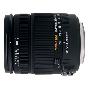 Photo of Sigma 18-125MM F3.8-5.6 DC OS HSM Lens
