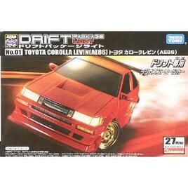 TakaraTomy and Yokomo Drift Package Light No. 01 Toyota Corolla Levin Reviews