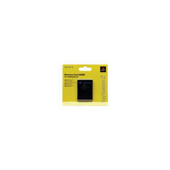 Sony 8MB Memory Card PS2