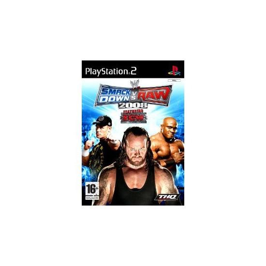 Smackdown Versus Raw 2008 PS2