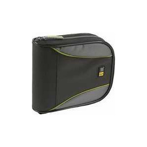 Photo of Case Logic Black CD and DVD Wallet 32 Disc Capacity CD and DVD Storage