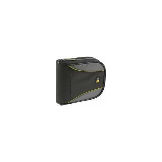 Case Logic Black CD and DVD Wallet 32 Disc Capacity
