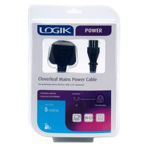 Photo of Logik M8318 5M Clover Lead Adaptors and Cable