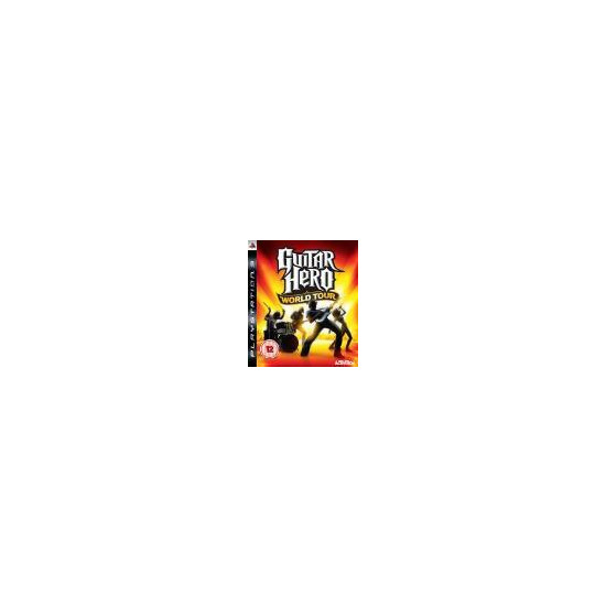 Guitar Hero World Tour - Game Only (PS3)