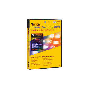 Photo of Norton Internet Security 2009 3 PC Software