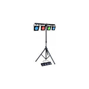 Photo of KAM LED Parbar Portable All-In-One DMX LED Lighting System Lighting