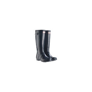 Photo of Hunter Wellies - Original Adult In Midnight Sparkle - Select Size Shoes Man