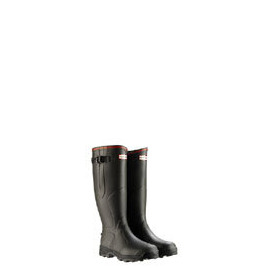 Hunter Balmoral Wellies - Bamboo Carbon in Dark Olive - Select Size Reviews