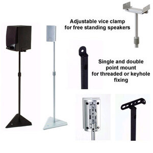 Photo of B-Tech BT10 Speaker Stands Audio Accessory