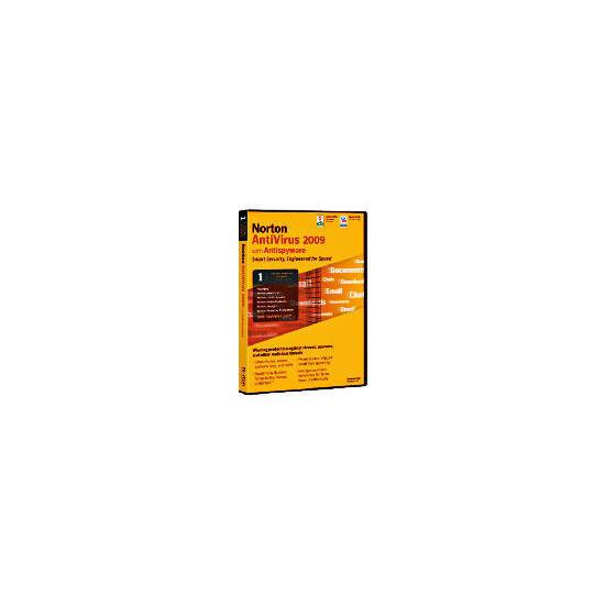 Norton Antivirus 2009 (1 User) PC