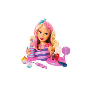 Photo of Barbie Candy Glam Styling Head & Lipgloss Toy