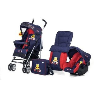 Photo of Disney Pooh Hearts Speed Sun Plus Travel System Pram
