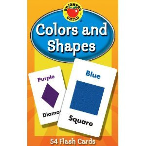 Photo of Colours and Shapes Flash Cards Book