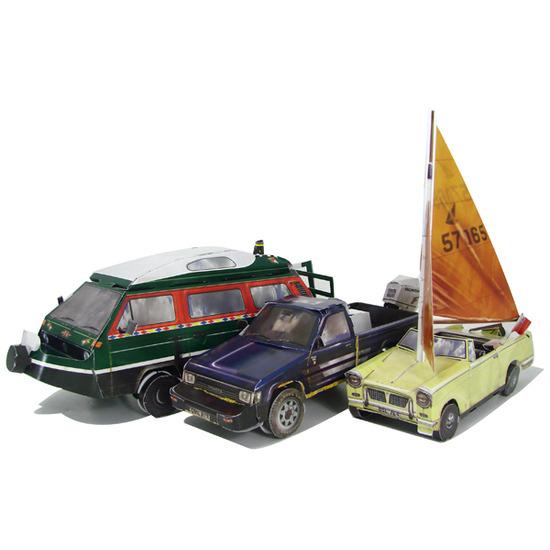 Top Gear Aqua Challenge Model Making Kit