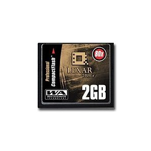Photo of Lexar Media CF2GB 80 386 Memory Card