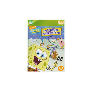 Photo of LeapFrog Tag Software SpongeBob SquarePants Book Toy