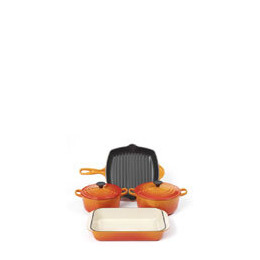 Le Creuset Volcanic 4 Piece Cast Iron Pan Set Reviews